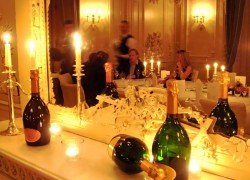 Champagner-Dinner in der Villa Rothschild in Königstein
