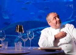 Santi Santamaria im Restaurant Ossiano im Hotel Atlantis Dubai
