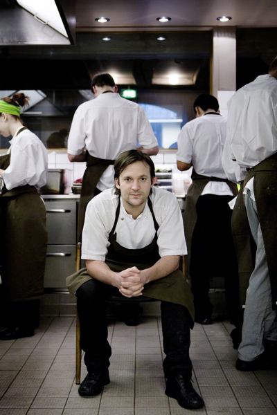 Küchenchef Rene Redzepi vom Restaurant Noma in Kopenhagen