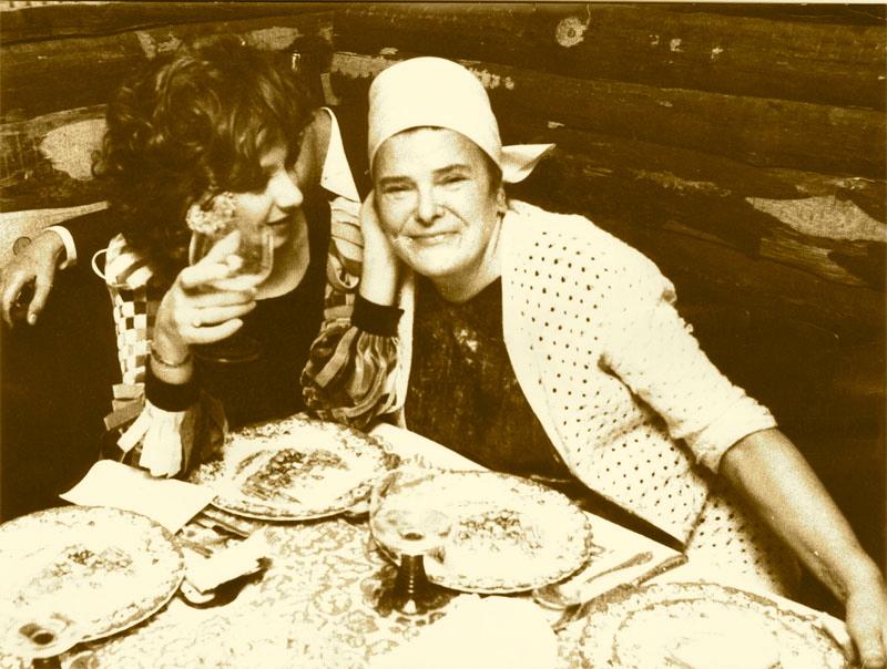 Mamuschka mit Esther Ofarim