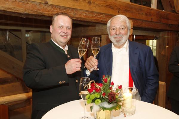 3-SternekochClaus-Peter Lumpp (l.) und Wolfram Siebeck