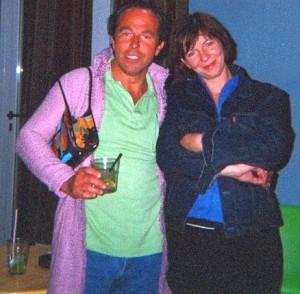 Zwei, die sich offenbar gut verstehen: Jean Luc Naret (l.) und Juliane Caspar, Chefredakteurin des Michelin in Frankreich