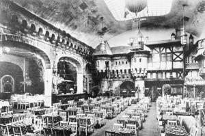 Der Kristallpalast in der Großen Gallusstraße 12 war ein Varieté mit Vergnügungssaal