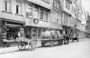 Apfelweinrevier Alt-Sachsenhauen mit Gaststätte Rieweloch