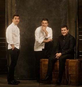 Die Roca-Brüder Josep, Jordi und Joan