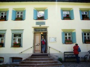 Nietzsche-Haus in Sils-Maria
