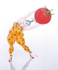 Italiener-Tomate
