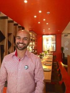 Restaurantmanager Emrah Sütcü