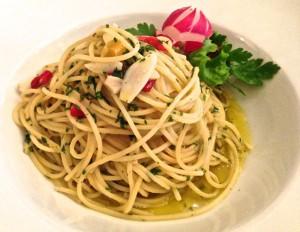 Da Marietto:Spaghetti Aioli