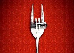 Messer und Gabel in Teufels Küche