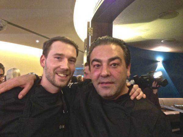 Dennis Maier (l.) und Juan Amador in besseren Tagen