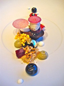 Dessert: Goldener Sommer