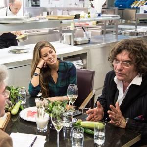 Lydia Forte & Fulvio Pierangelini in der Küche