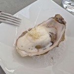Gegrillte Auster