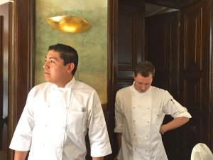 Sebastian Lühr (r.) mit mexikanischem Souschef