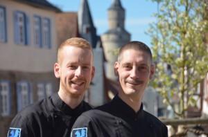 Straub (l.) und Buer
