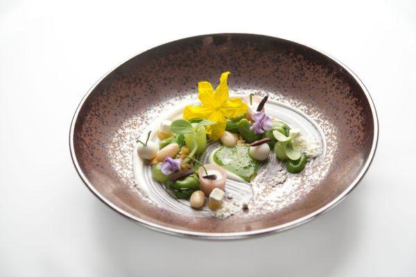 Bauernsalat - Bohnen -  Schafskäse - Oliven -  Gurke-min