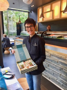 Sushi-Managerin Isabelle Sanchez