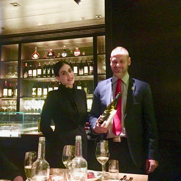 Restaurantleiterin Deborah Mognol, Enrico Resta