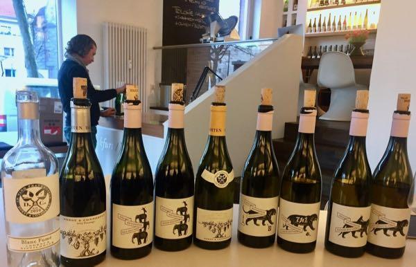 Kollektion bei Frankfurt/Wein