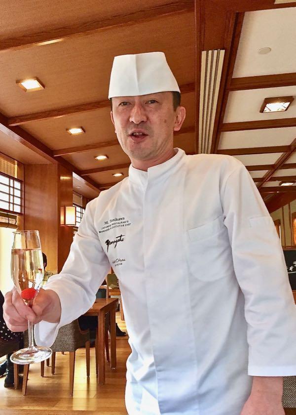 Küchenchef Tomikawa