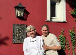 Alfred Friedrich (l.) und Pit Punda
